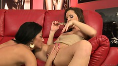 Horny lesbian lovers are the most passionate creatures in the world