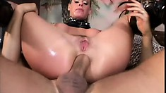 Kinky blonde Nicole Sheridan can't get enough of a hard dick in her ass