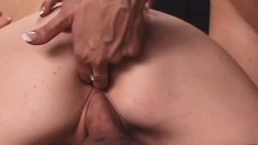 Busty bitches get used like toys by a huge group of hung guys